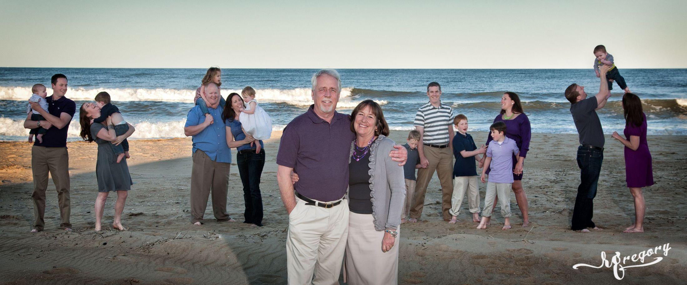 D Ammour multigenerational family reunion virginia beach photograph