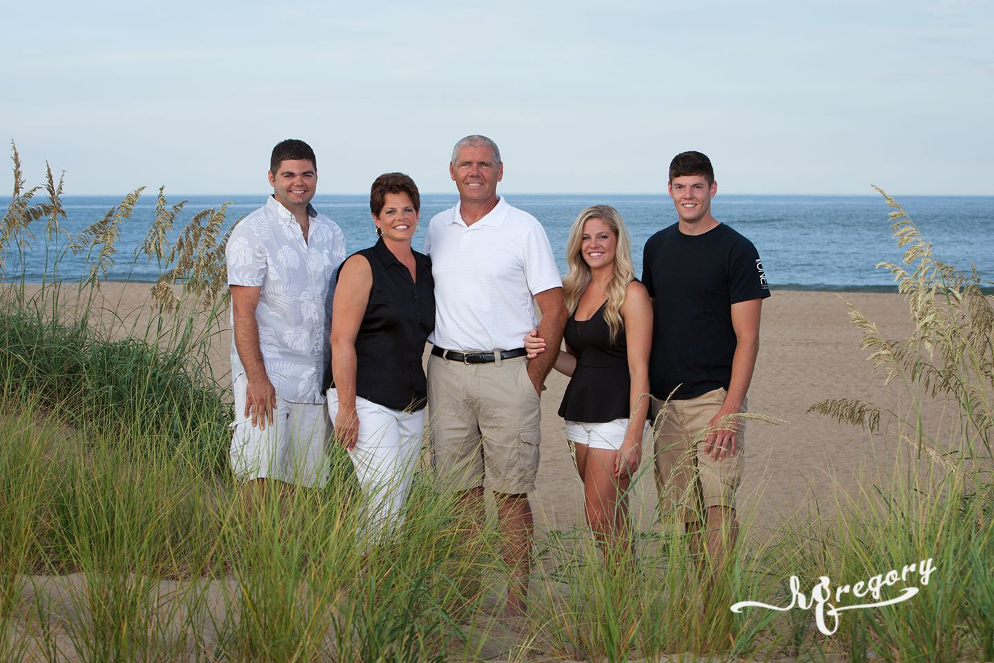 Dalziel family virginia beach portrait