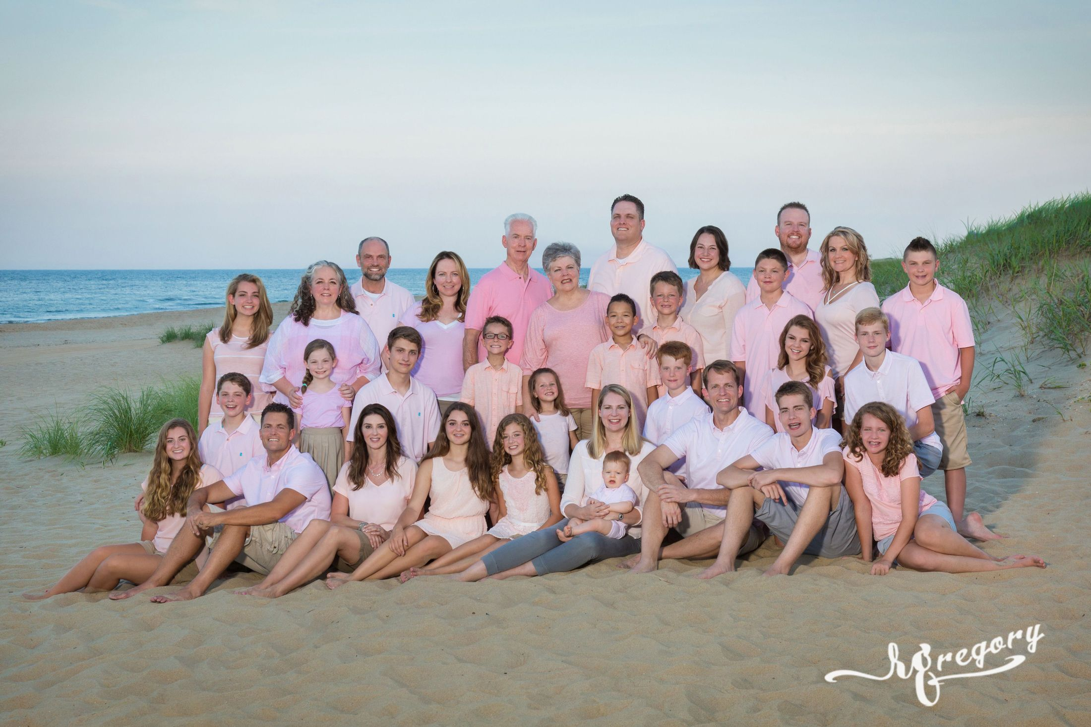 Higbee Family Reunion Virginia Beach Photographer