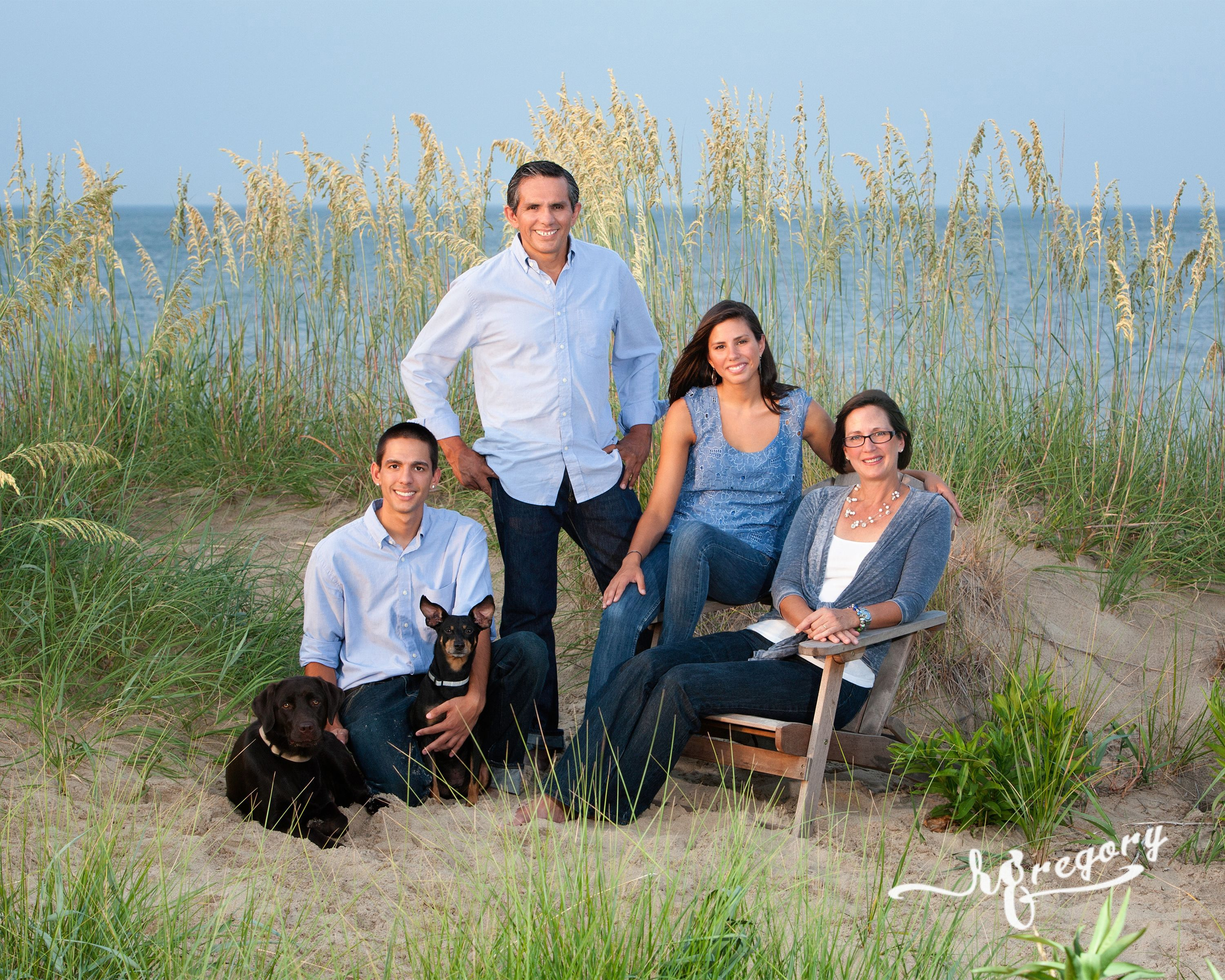 Family Portrait Photo beach