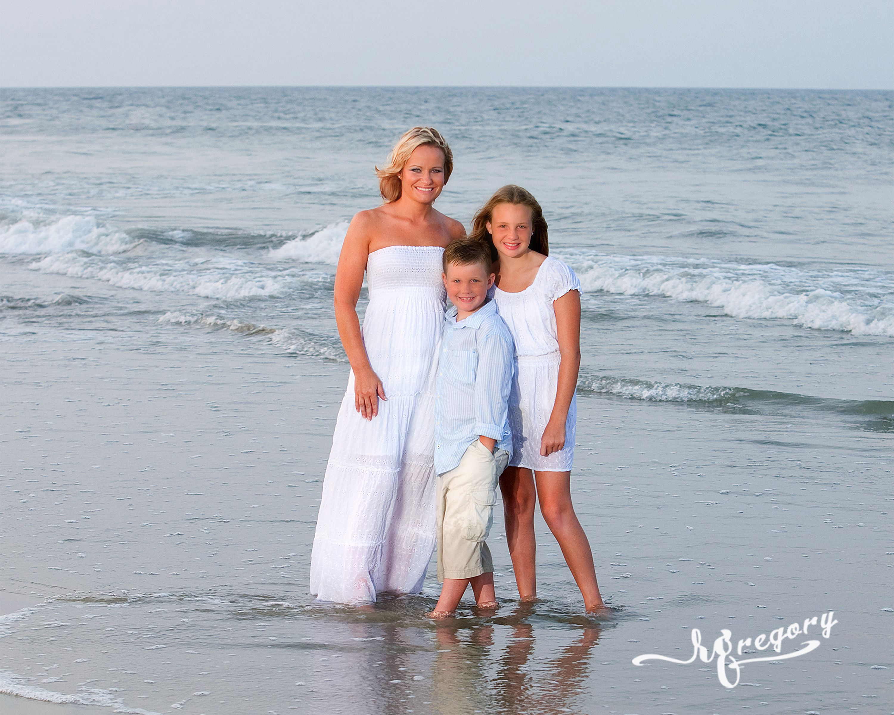 Beach Family Portrait Photography (8)