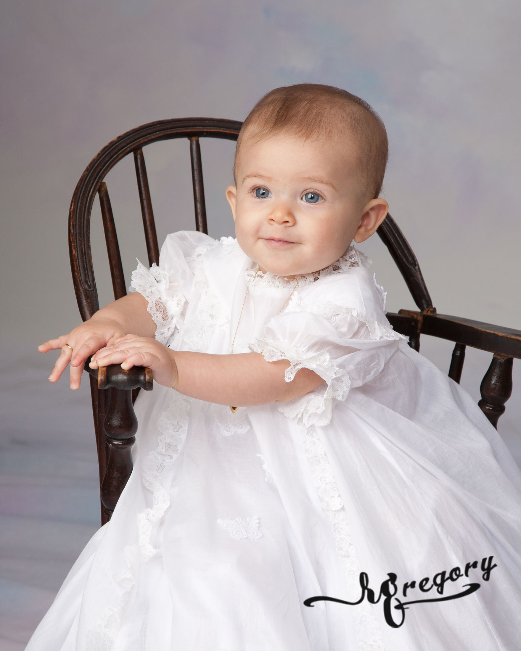 baby girl in chair child photograph